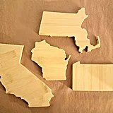 State-Shaped Coasters