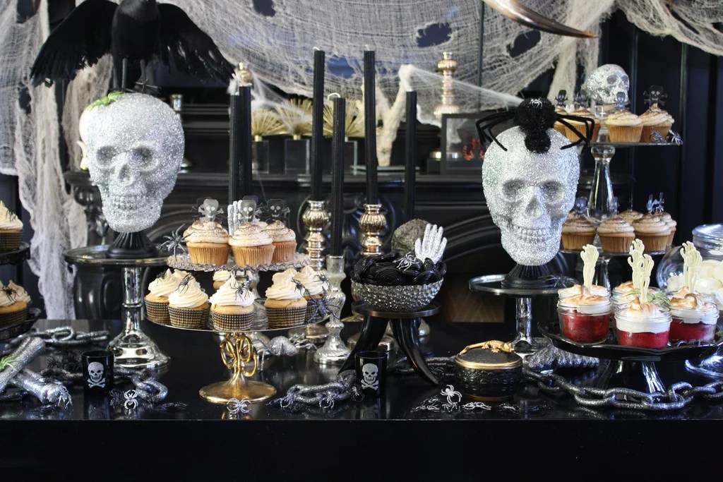 Halloween Dessert Table Halloween Party Ideas POPSUGAR