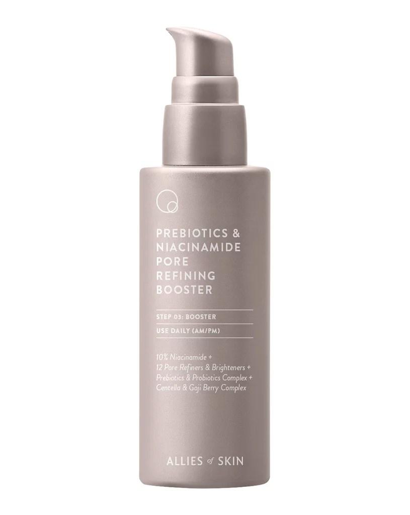 Allies of Skin Prebiotics and Niacinamide Pore-Refining Booster
