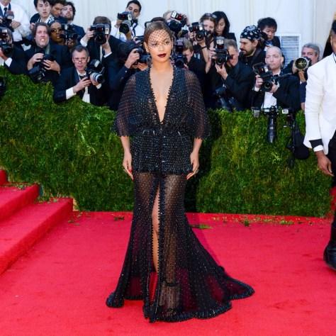Beyoncé's Givenchy Met Gala Dress, 2014