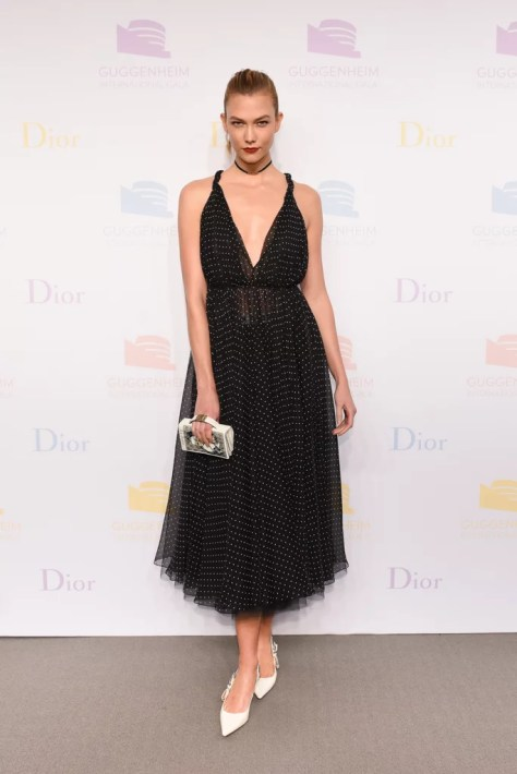 Karlie Kloss Wearing Dior