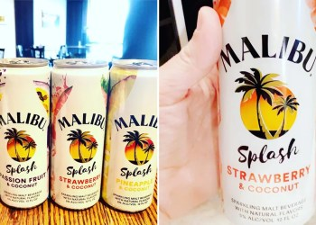 Malibu's Canned Splash Drinks Taste Like Strawberry, Lime, Passion Fruit, and Pineapple