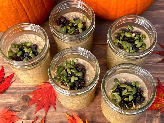 Prep a Week of Pumpkin Spice In a single day Oats