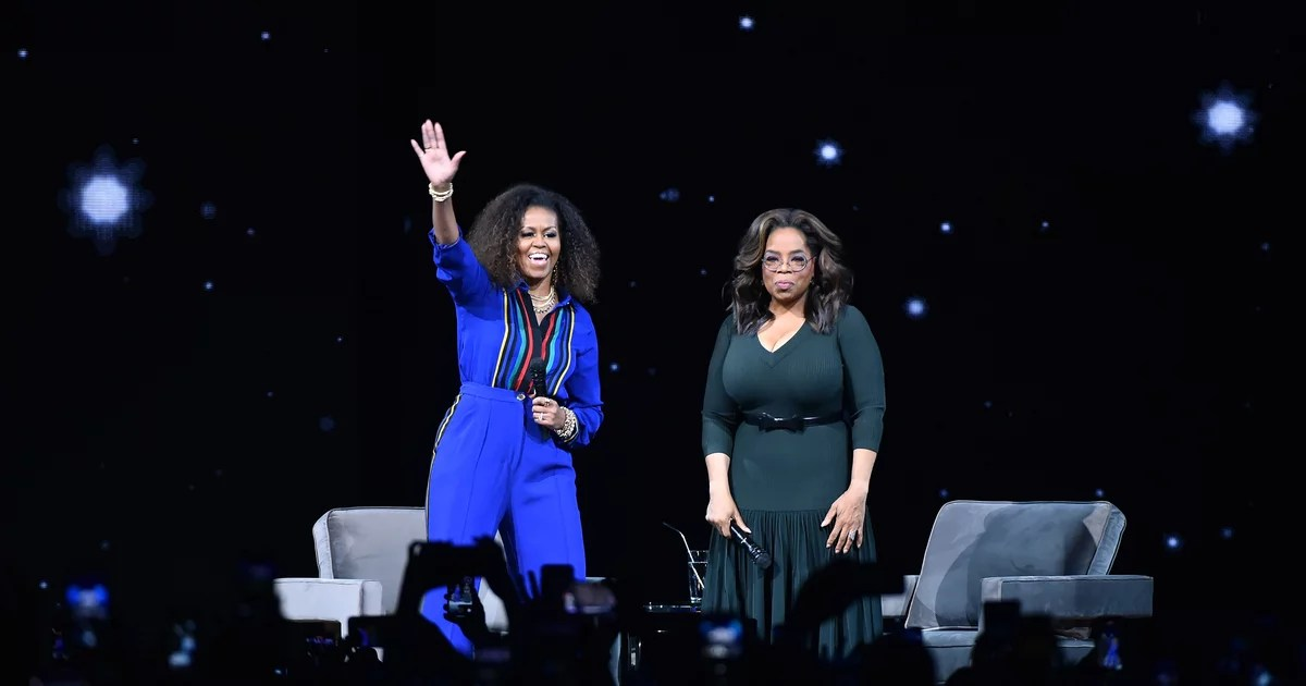 Watch Michelle Obama and Oprah Discuss Why You Should Love Your Body at Every Stage