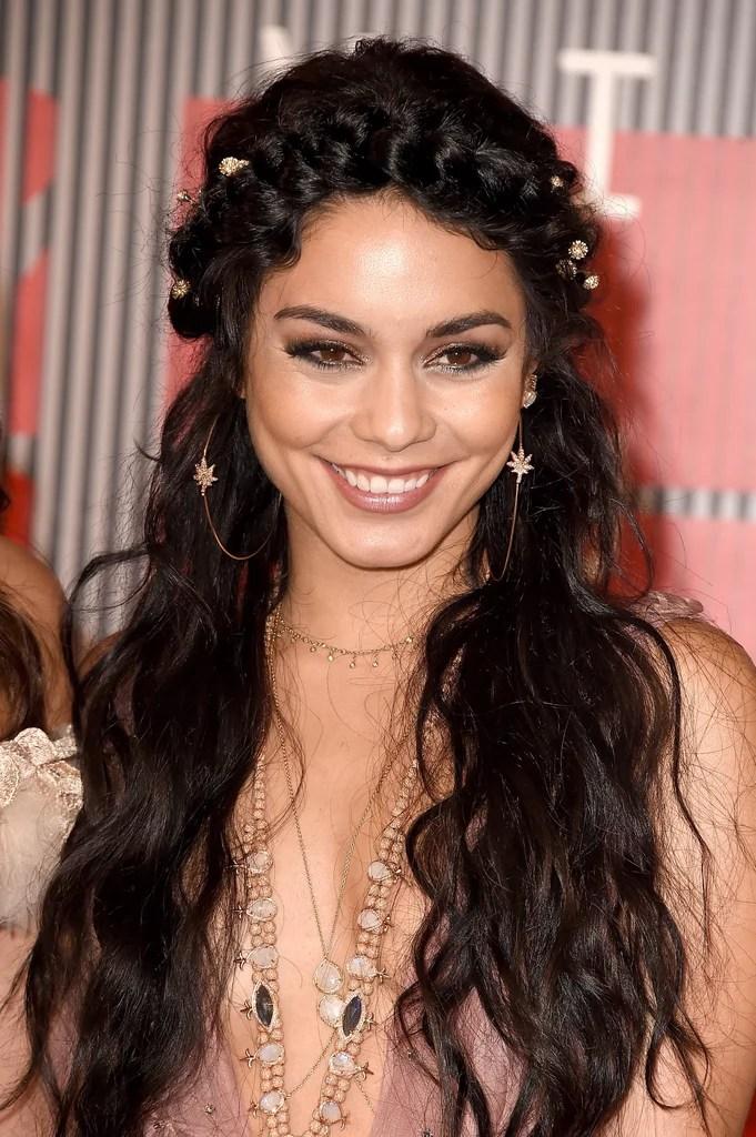 Vanessa Hudgens Hair MTV VMAs 2015 POPSUGAR Beauty
