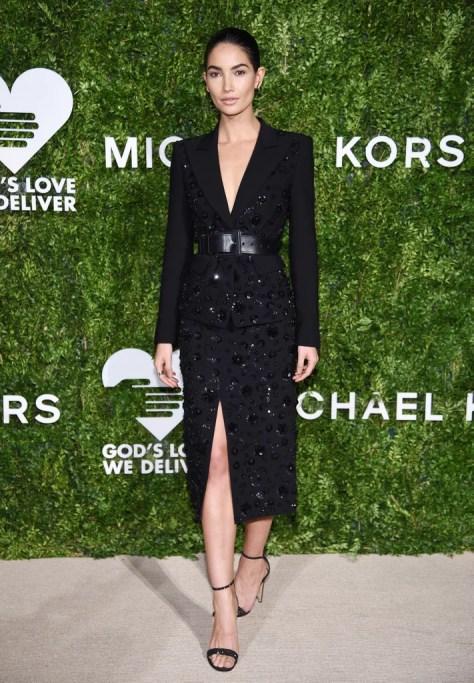 Lily Aldridge Wearing Michael Kors Collection