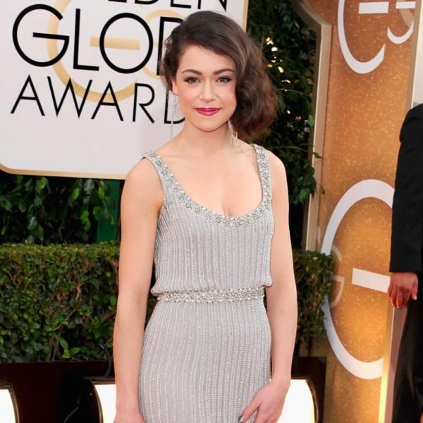 Tatiana Maslany at the Golden Globe Awards 2014 | POPSUGAR ...