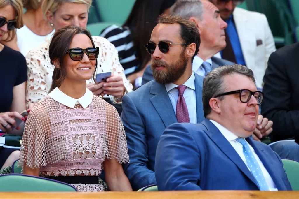 Pippa Middleton At Wimbledon July 2017 POPSUGAR Celebrity