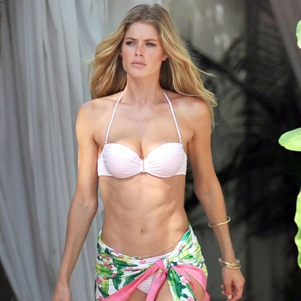 Doutzen Kroes Bikini Pictures For Victoria's Secret ...