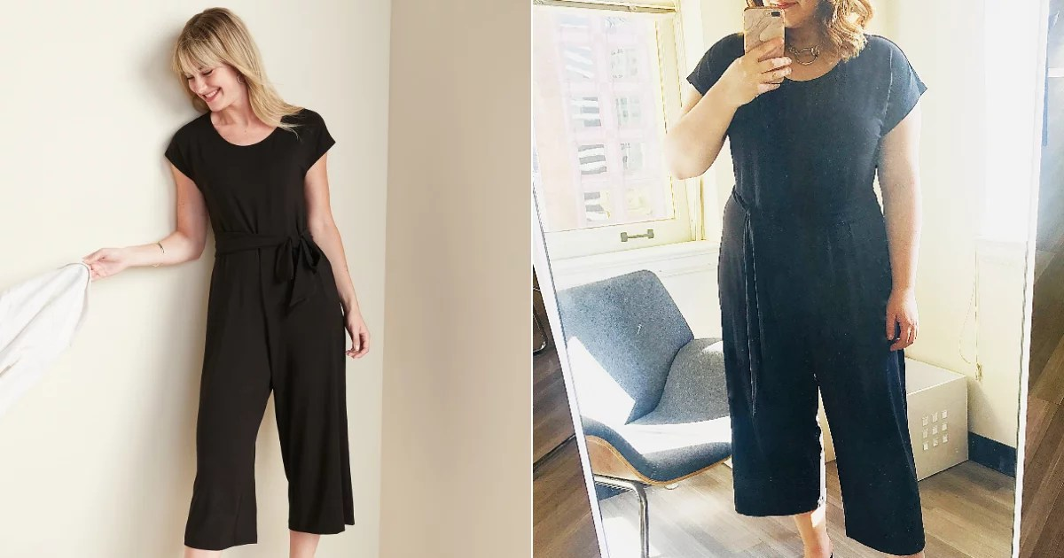 Is This Magic? My New $29 Black Jumpsuit Is Flattering, Snug, and Doesn't Wrinkle