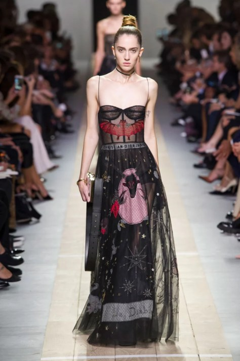 The Dior collection debuted during Paris Fashion Week on Sept. 30.