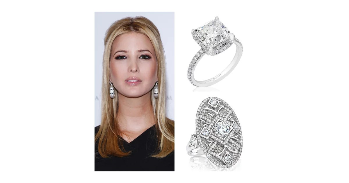 Ivanka Trumps Green Bridal Jewellery See Her Eco