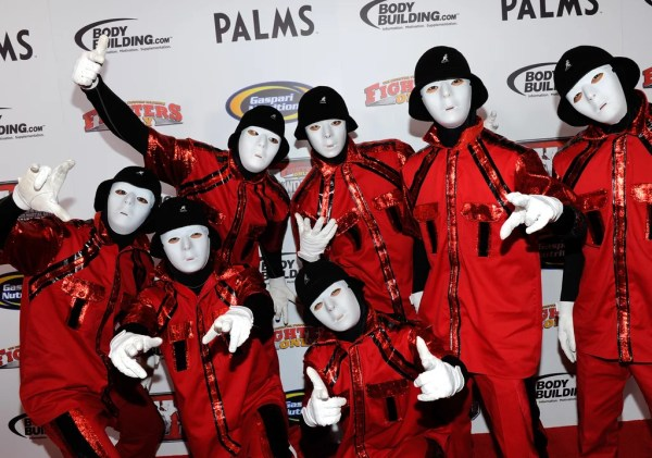 Jabbawockeez | Celebrities at CES 2012 | POPSUGAR Tech Photo 9