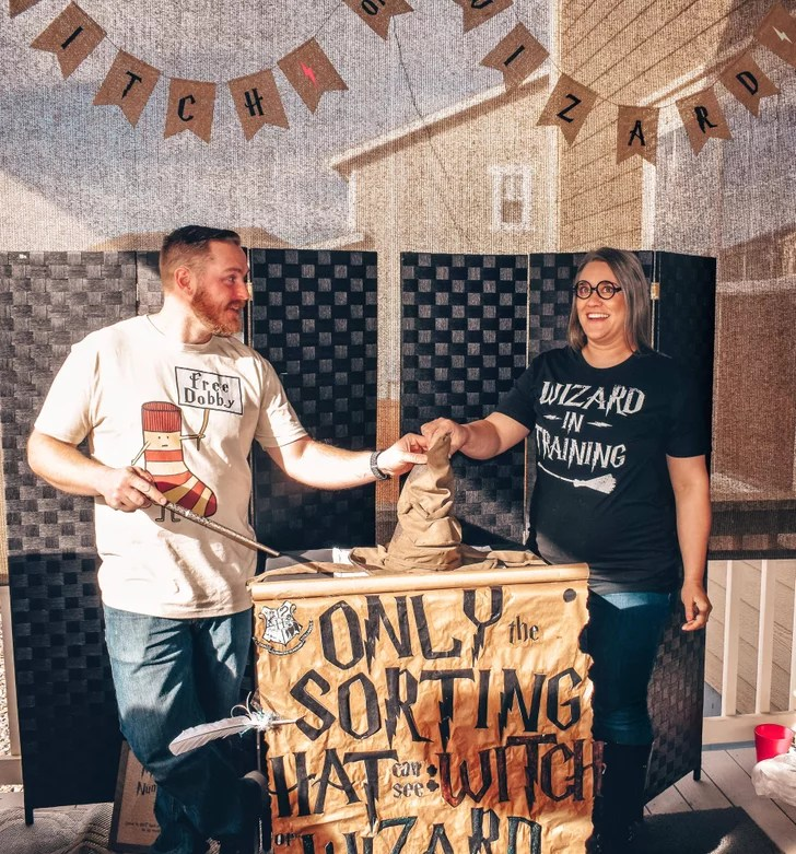 Harry Potter Gender Reveal Party Ideas And Pictures Popsugar Family