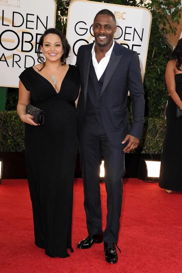 Idris Elba and Naiyana Garth hit the red carpet together ...