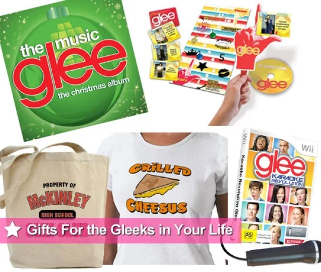 Christmas Present And Gift Ideas For Glee Fans Popsugar Celebrity Australia