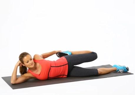 Image result for Lying down Quadriceps