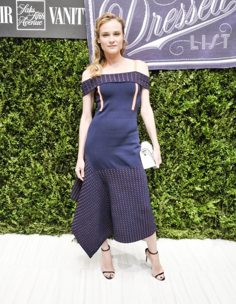 Diane Kruger Wearing Jason Wu