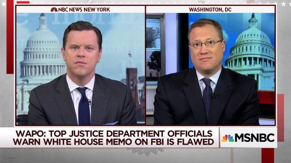 Republican warned on push to release classified memo