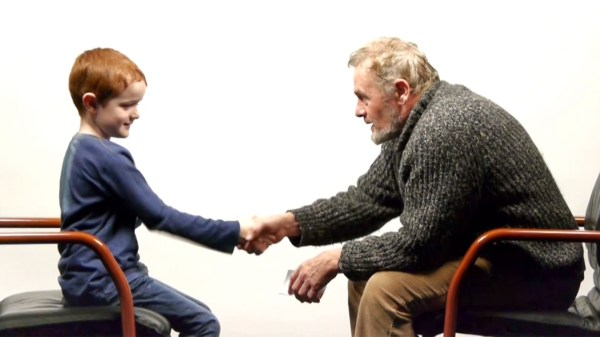 Boy, 7, and man, 64, answer life's questions in adorable ...