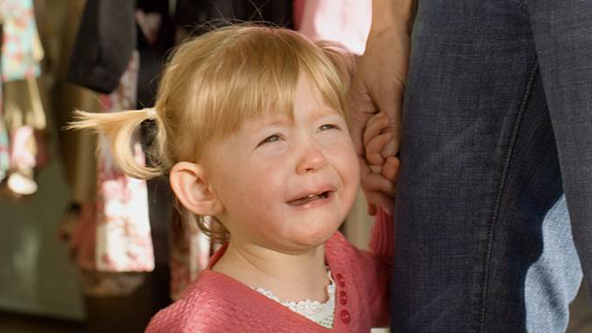 Separation Anxiety Calming A Child Who Cries At Goodbyes
