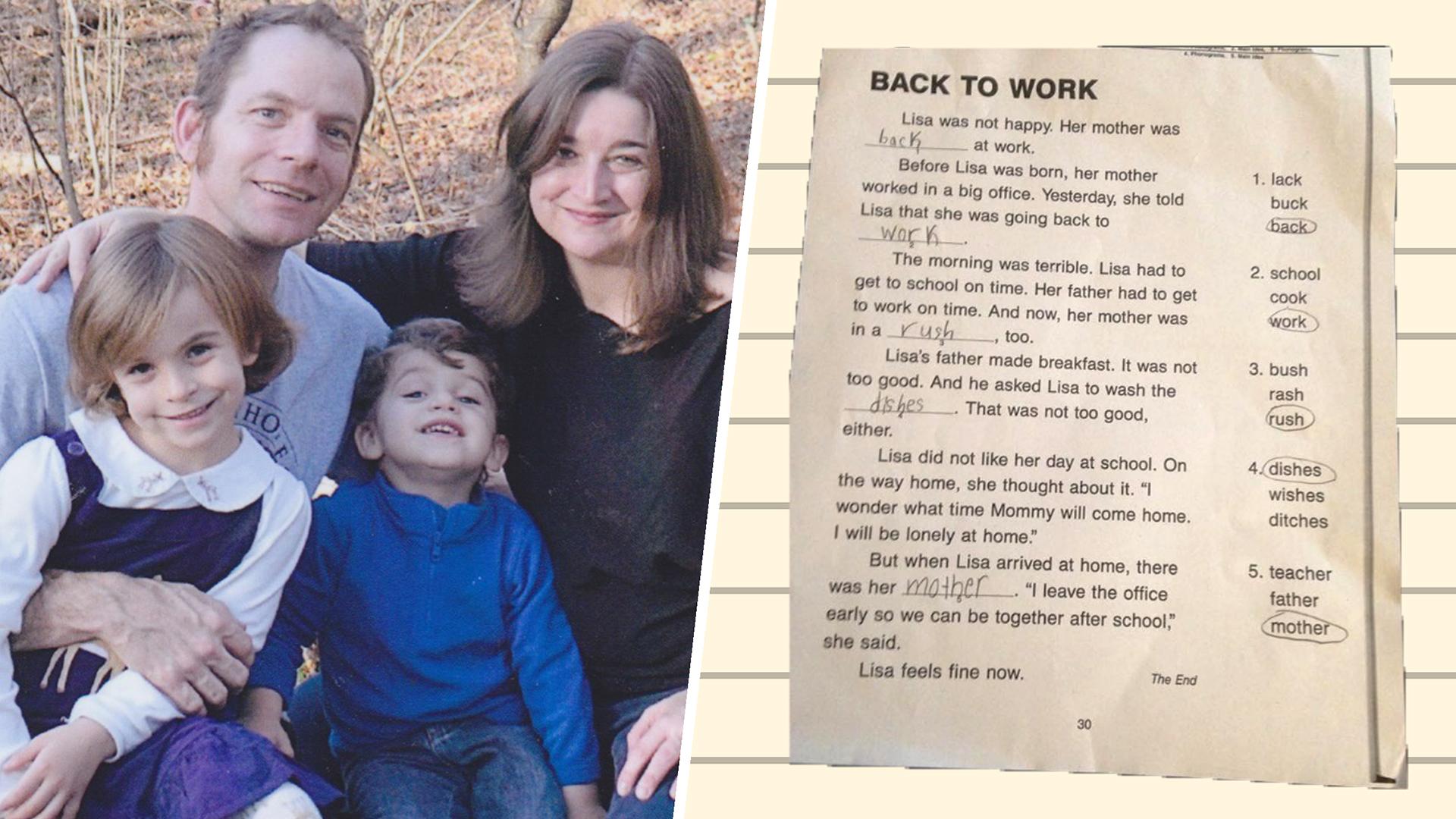 Mom Rewrote Her Daughter S School Worksheet In The Best Way
