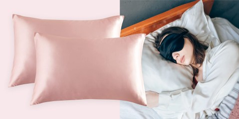 The best satin pillowcase to help reduce frizzy hair - TODAY