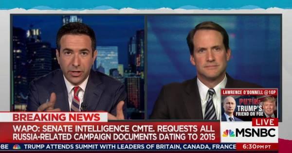 Senate widens scope of Trump-Russia probe to whole campaign