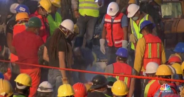 Mexico City Quake: Rescuers Desperate to Find Survivors