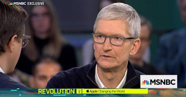 Privacy is 'a human right': Apple CEO Tim Cook