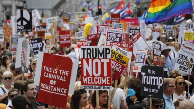 Image result for left & mass media anti Trump
