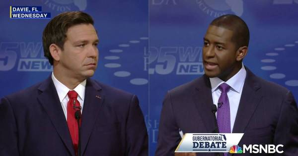 Florida governor race heats up between Gillum, DeSantis