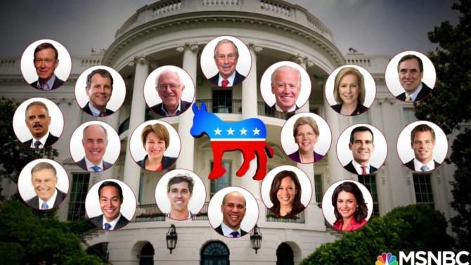 Image result for dem candidates for president