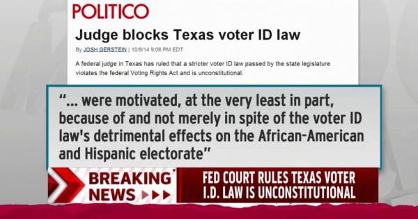 New voter ID laws blocked in Texas, Wisconsin