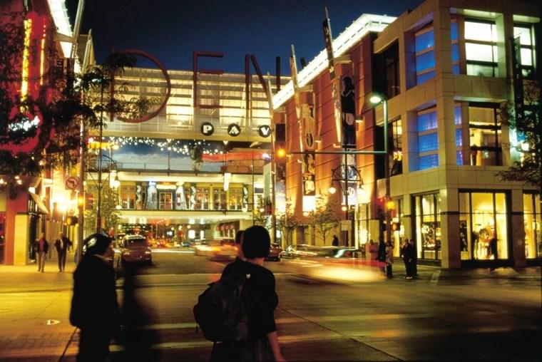Restaurants Downtown 16th Street Mall