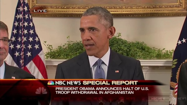 'The Right Thing to Do': Obama Backs Off Afghanistan ...