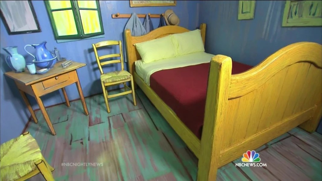 you can now sleep in vincent van gogh's painting 'the bedroom