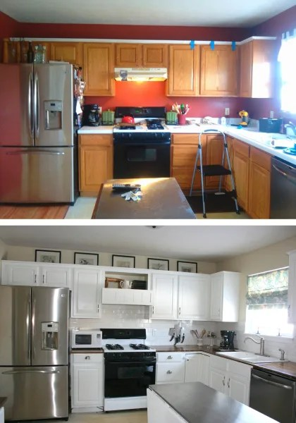 Easy and inexpensive, this mobile will lend panache to any nursery. See what this kitchen looks like after an $800 DIY