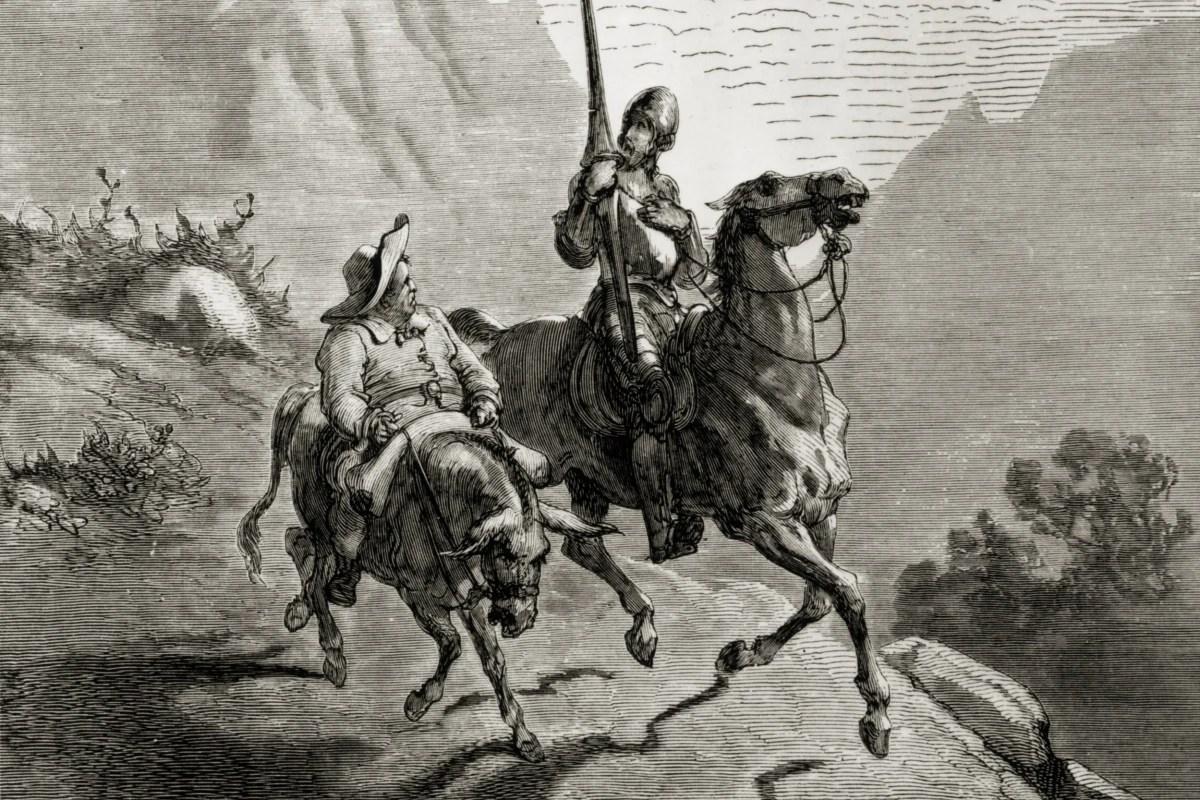 Image result for don quixote