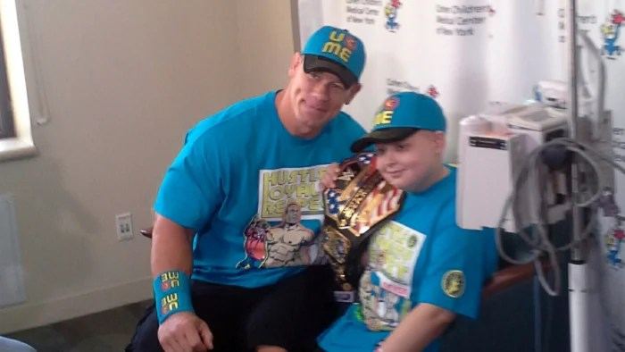 John Cena Reveals Plan To Grant 500th Make A Wish On Air Ill Go On As Long As Theyll Have Me