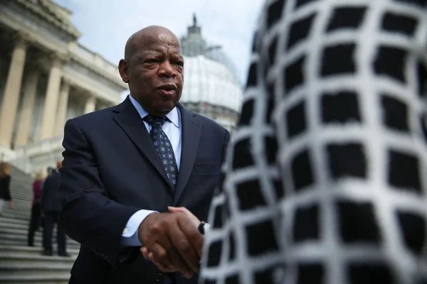 Image: House Democrats Commemorate 50th Anniversary Of Voting Rights Act