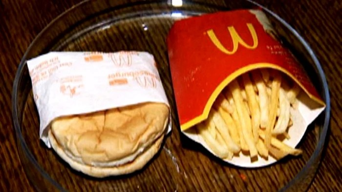 The last McDonalds hamburger in Iceland