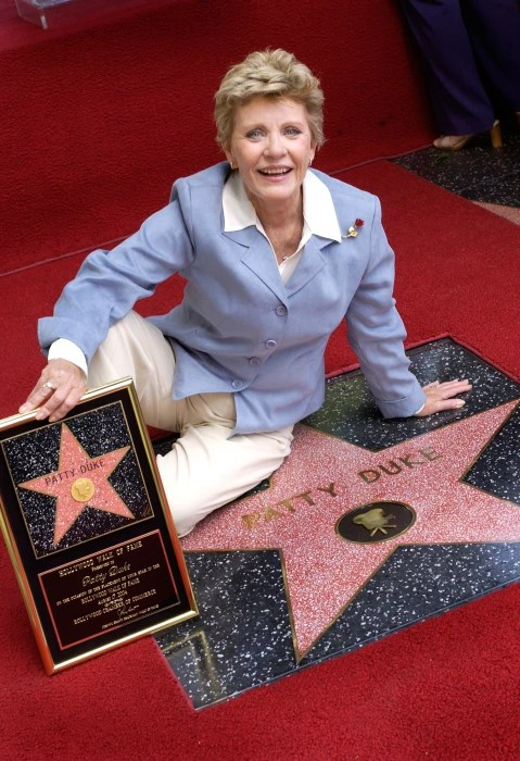 Patty Duke Gets Star On Walk Of Fame