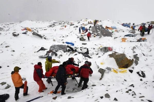 Image: TOPSHOTS-NEPAL-DISASTER-EARTHQUAKE