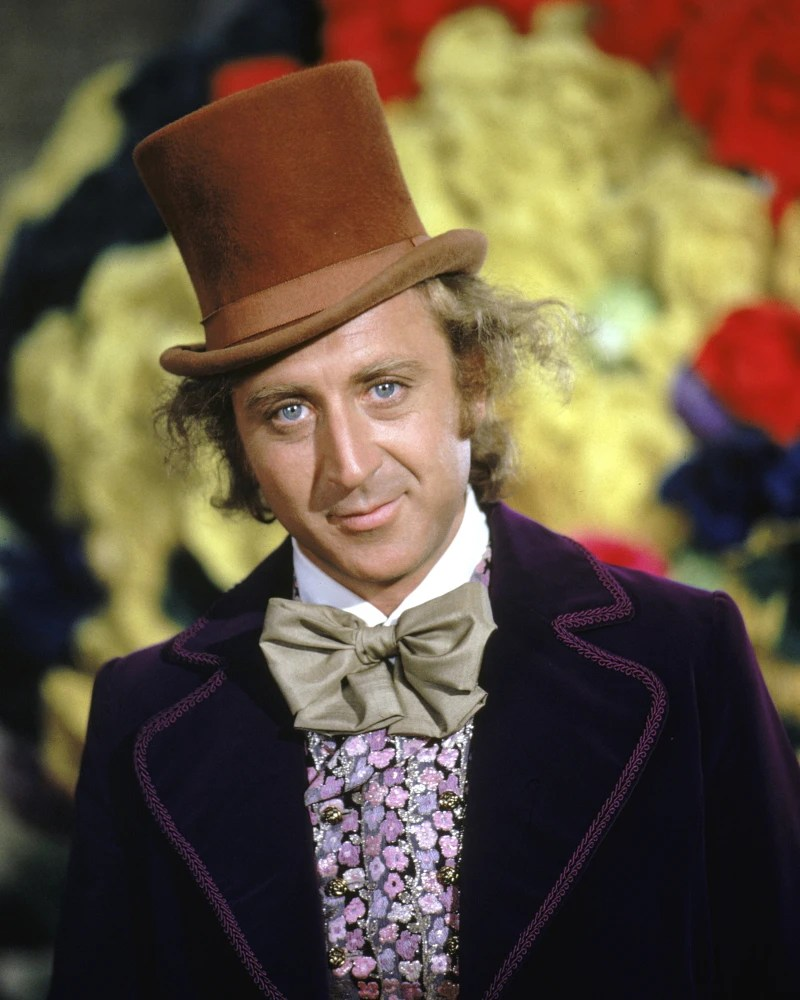 Image result for willy wonka dies