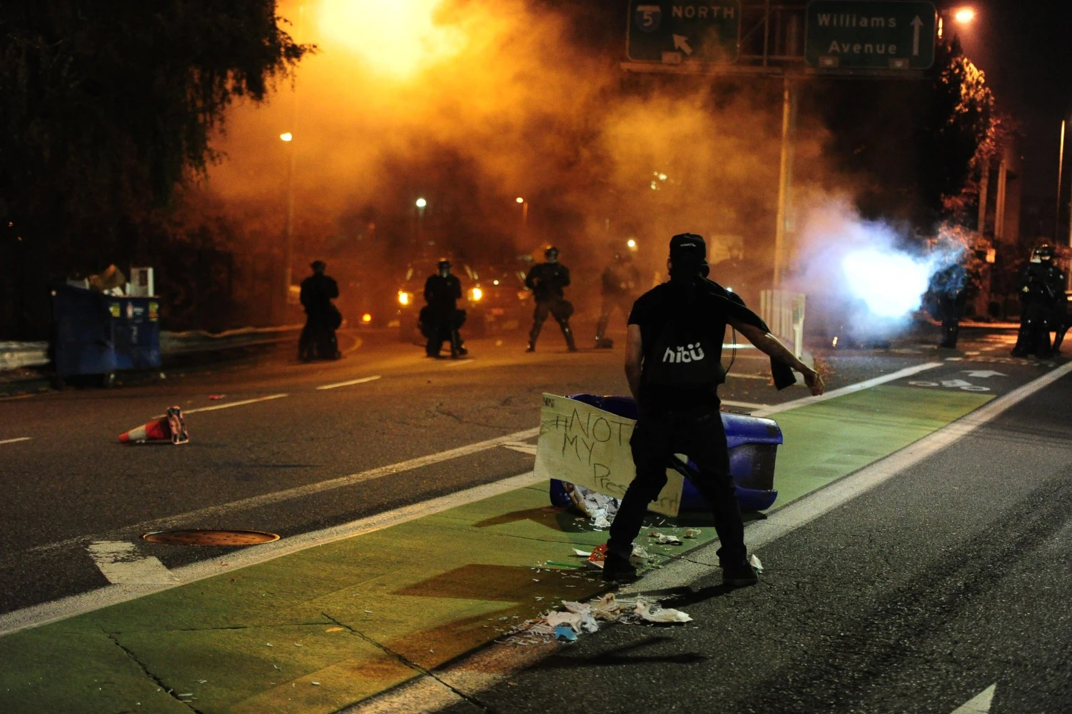 Image result for image of anti-trump riots