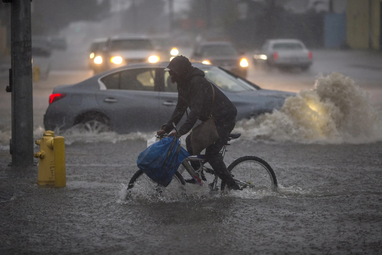 Image result for Images of storm in S. California
