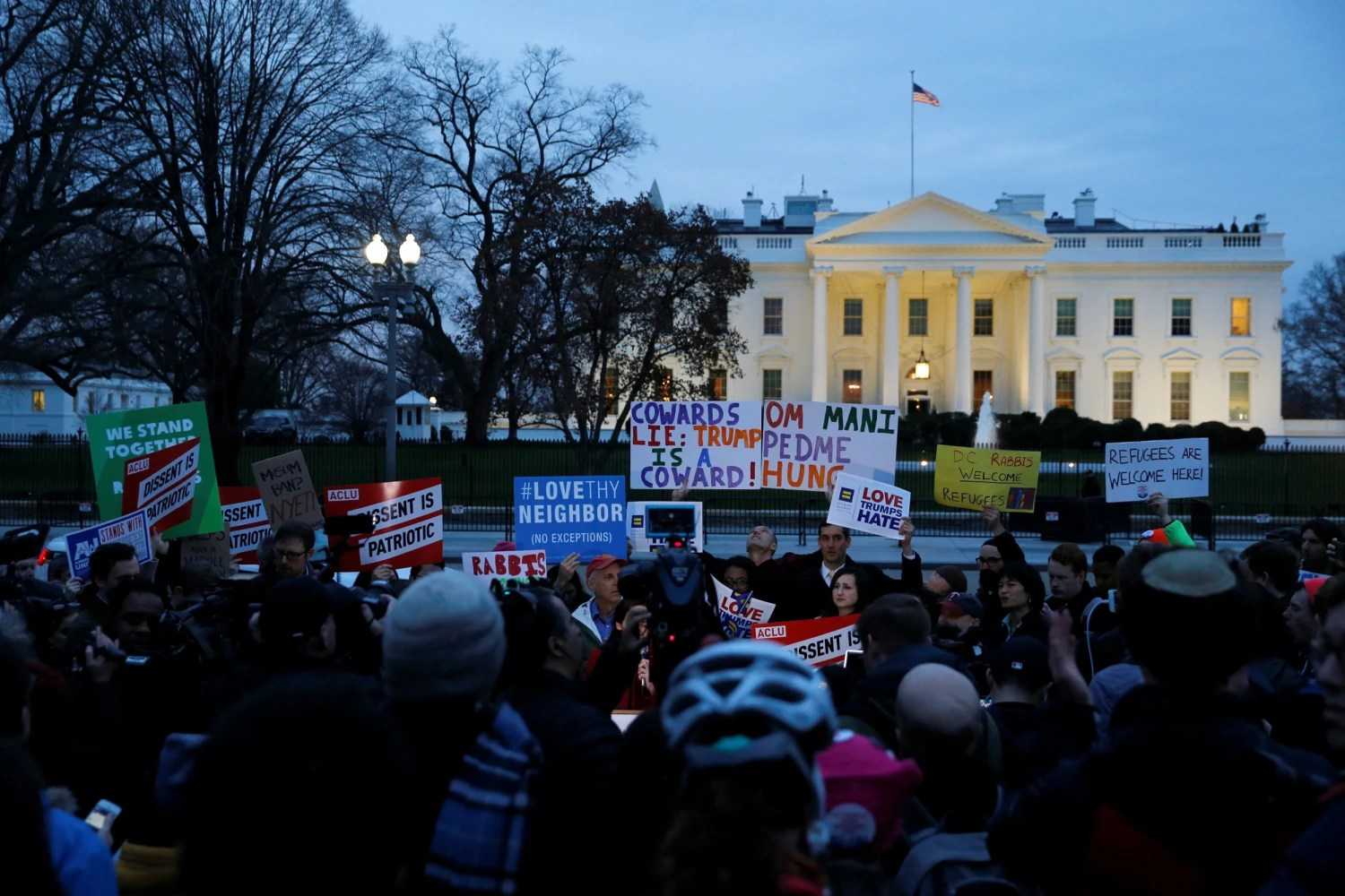 Travel ban suit fixates on what it doesn't say