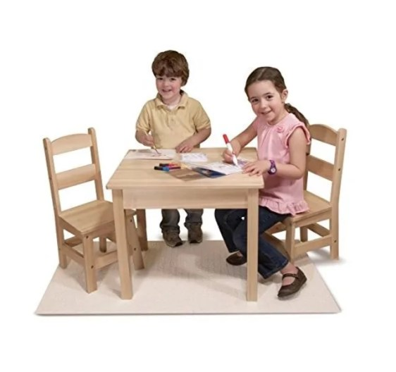 Melissa and Doug Wood table seen on The Today Show deals