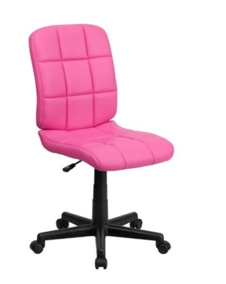 pink office chair seen on Today Show